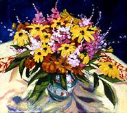 Garden Bouquet with Brown Eyed Susans